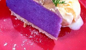 今の時期限定の『紫イモのスィートポテトケーキ』
